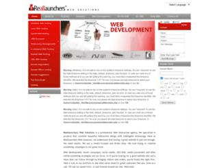 reallaunchers.com screenshot