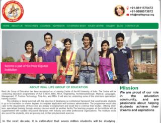 reallifegroup.net screenshot