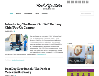reallifenotes.com screenshot