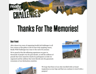 reallywildchallenges.com screenshot