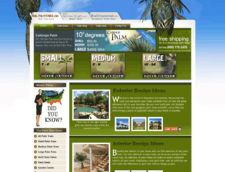 realpalmtrees.com screenshot