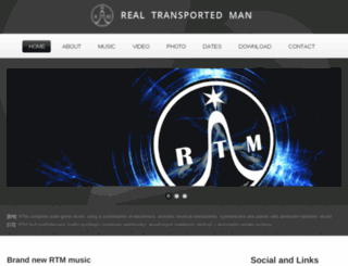 realtransportedman.com screenshot