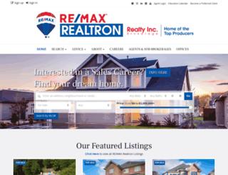 realtronhomes.com screenshot