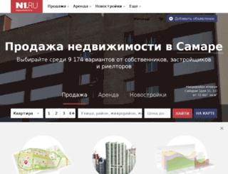 realty.samara24.ru screenshot