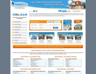realtygoa.com screenshot