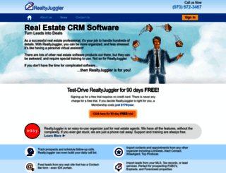 realtyjuggler.com screenshot