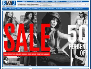 realwomanjeans.com screenshot