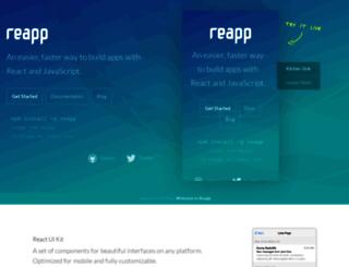 reapp.io screenshot