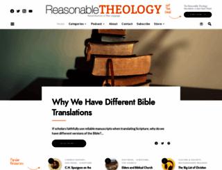 reasonabletheology.org screenshot
