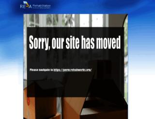 reba.rehabworks.org screenshot