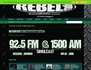 rebelradio.com screenshot