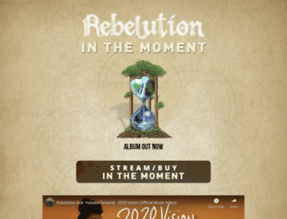 rebelutionmusic.com screenshot