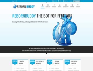 rebornbuddy.com screenshot