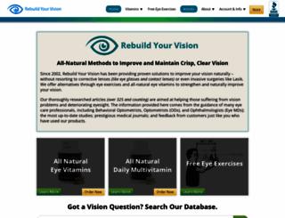 rebuildyourvision.com screenshot