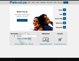 rebvoice.com screenshot