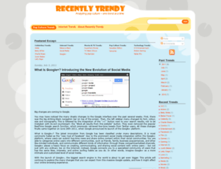recentlytrendy.blogspot.com screenshot