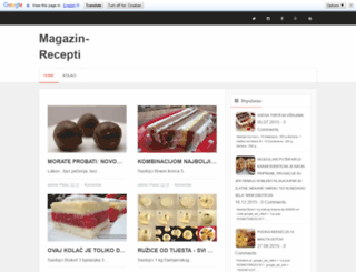 receptimagazin.blogspot.de screenshot