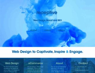 receptivemedia.co.uk screenshot