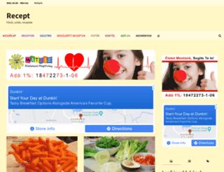 receptmix.hu screenshot
