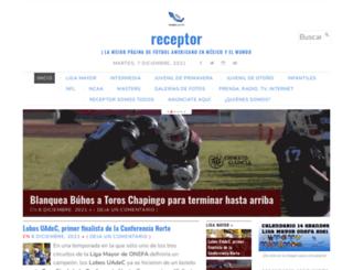 receptor.com.mx screenshot