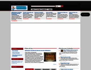 recetas-faciles.com screenshot
