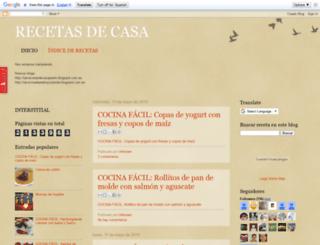 recetasdecasa.net screenshot