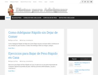 recetasparaadelgazar.org screenshot