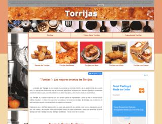recetatorrijas.com screenshot