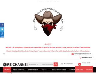 rechannel.co.in screenshot