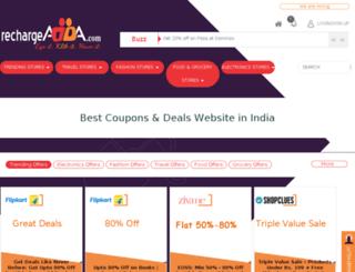 rechargeadda.com screenshot