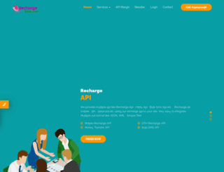 rechargeblast.com screenshot