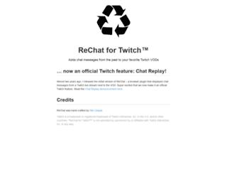 rechat.org screenshot
