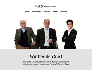 rechtsanwalt-ostfalk.de screenshot