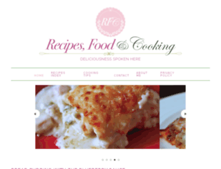 recipesfoodandcooking.com screenshot