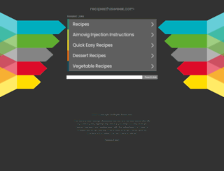 recipesthisweek.com screenshot