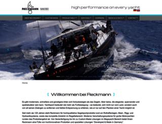 reckmann.com screenshot