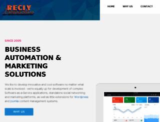 recly.com screenshot