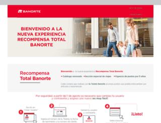 recompensatotalbanorte.com screenshot