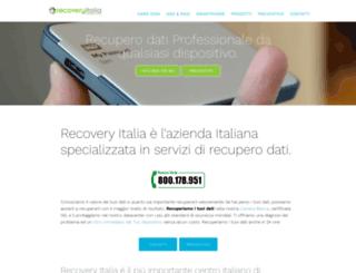 recoveryitalia.it screenshot