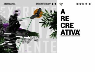 recreativa.com.br screenshot