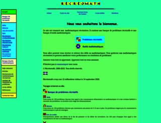 recreomath.qc.ca screenshot