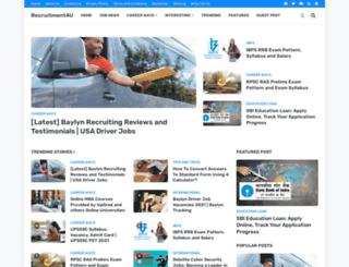recruitment4u.in screenshot