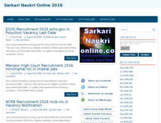 recruitmentapplications.in screenshot