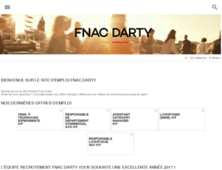 recrutement-darty.fr screenshot