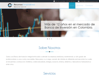 recursos-corporativos.com screenshot