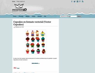 recursos2d.blogspot.com screenshot