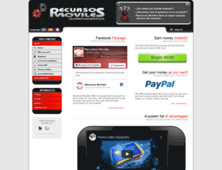 recursosmoviles.com screenshot
