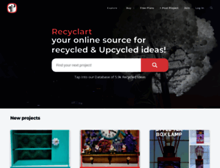 recyclart.org screenshot