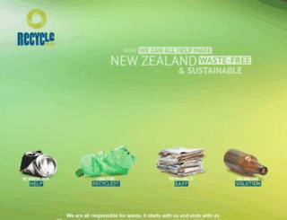 recycle.co.nz screenshot