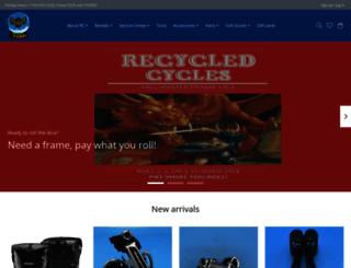 recycledcycles.com screenshot